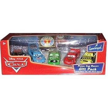 Amazon Com Disney Pixar Cars Piston Cup Racers Gift Pack