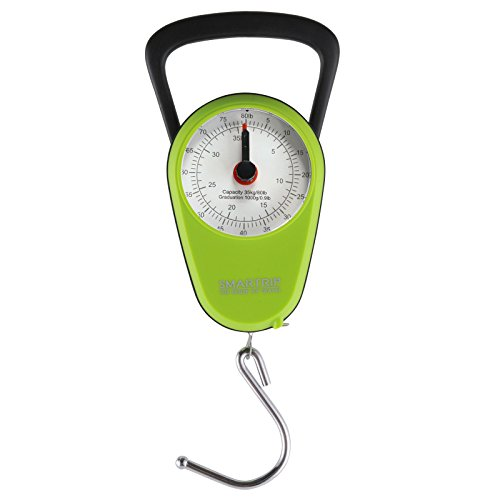 Smartrip Stop and Lock Manual Luggage Scale Mechanical Hanging Scale with Built...