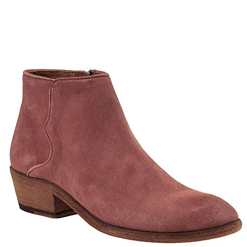 FRYE Women's Carson Piping Bootie Ankle Boot, Rosewood, 8 M US