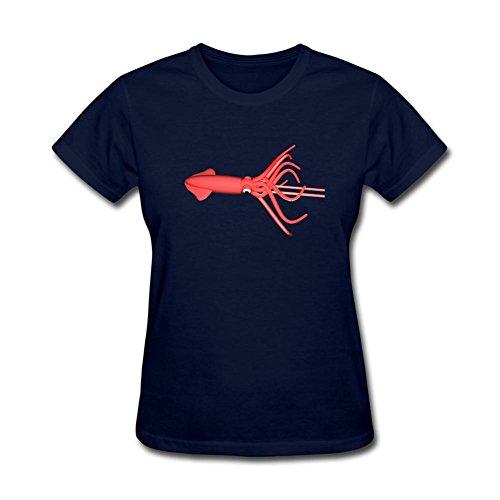 xieling-womens-squid-design-cotton-t-shirt