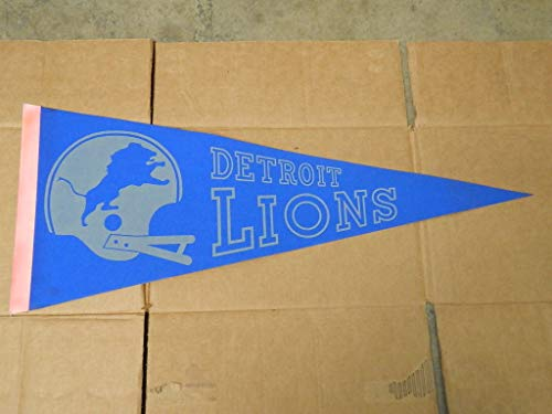 1970'S Detroit Lions Felt Pennant NFL Officially League ()