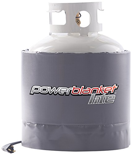 Powerblanket PBL20 Gas Cylinder Heater (Propane), 20 lb, Charcoal Gray (Tank Radiant Heater Top)