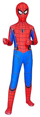 snow flying Bodysuit Superhero Costumes Lycra Spandex Kids Halloween Cosplay Costumes Red]()