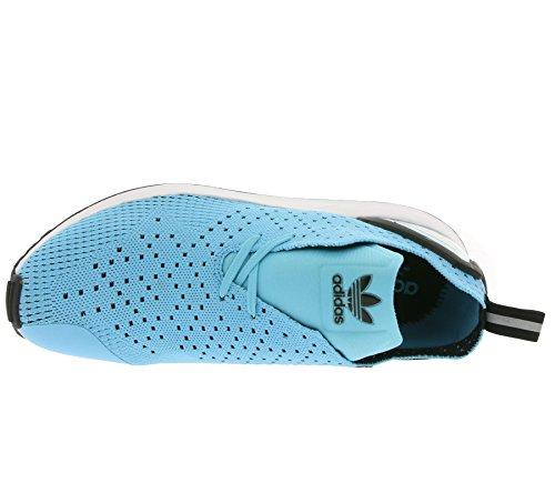 Adidas Originals Mænds Zx Flux Adv Asymmetriske Primeknit Trænere Kerne Blå Ke5NXz