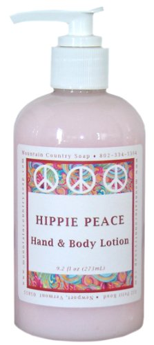 Hippie Peace (Nag Champa) Hand & Body Lotion - 9.2 oz