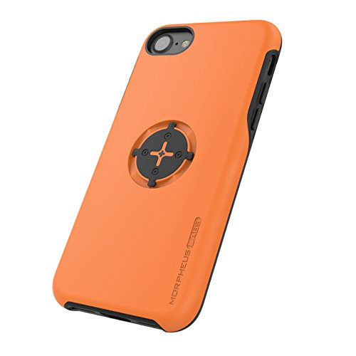 Morpheus Labs M4s Case for Apple iPhone 7 cover (bike mount ist not included) orange [Orange] (System M4s)