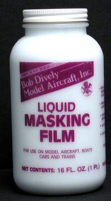 Bob Dively 3010 Liquid Masking Film 16 (Rc Paint Mask)
