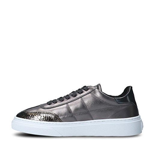Sneakers Leather Hogan Women's Grey HXW3400J280HR93632 4AxYzZ