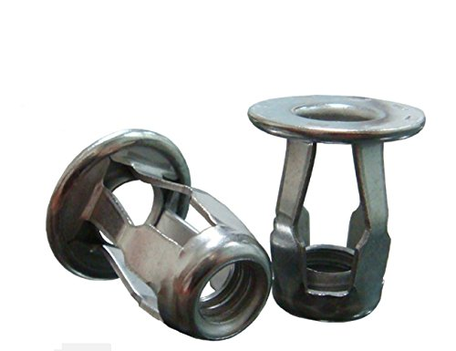 Stainless Steel Blind Jack Nut - 1/4-20x0.71