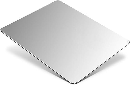 Black High Quality Gaming Aluminium Metal Mouse Pad