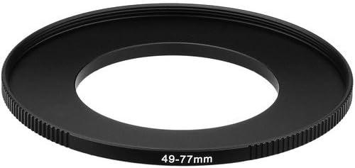 Sensei PRO 49mm Lens to 77mm Filter Aluminum Step-Up Ring 4 Pack