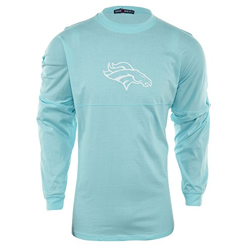 Basix Of America Mount Sinai Mustangs Long Sleeves Jumbo Crewneck T-Shirt Mens Style: MN-5660-01-S.Mint Size: XL ()