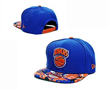 NBA Game Time Closer Stretch New York Knicks Hat  Amazon.co.uk  Sports    Outdoors c6037f44a6a