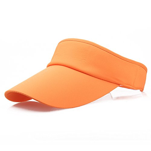 2019 New Sun Visor for Men Women Classic Sports Tennis Golf Running Hat Adjustable Cap (E) ()
