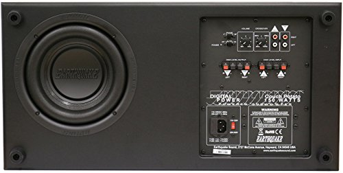Earthquake Sound CP8 Couch Potato Slim 8-Inch Subwoofer (Black Laminate, Single) 3