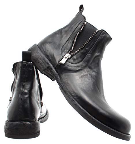 Scarpe CREATIVE Poetry Uomo Nero Black Hand Boots Ikon NovakT Italy OFFICINE 039 aF6wSnwp