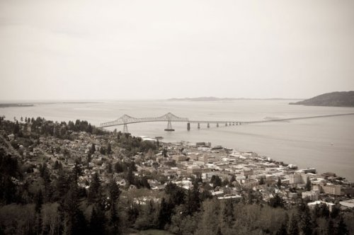Astoria Vista, Fine Art Photograph By: Erin Berzel; One 36x24in Fine Art Paper Giclee Print by Gango Home Décor