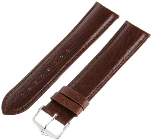 """Hirsch 010092-15-22 22 -mm  Genuine Textured Leather """"No ..."""