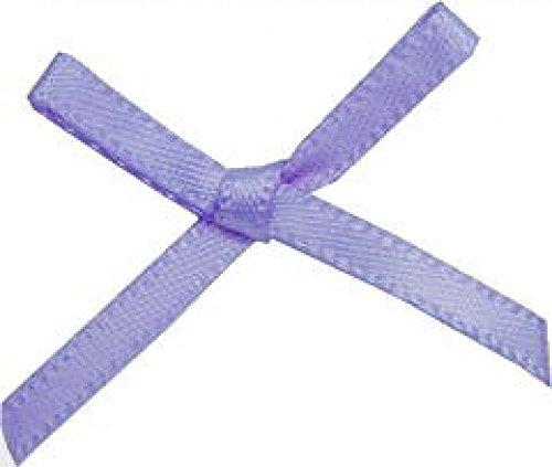 3Mm Mini Ribbon Bow Iris   Pack Of 100