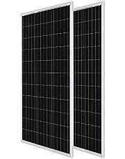 Renogy Volt Monocrystalline Solar Panel, Compact Design