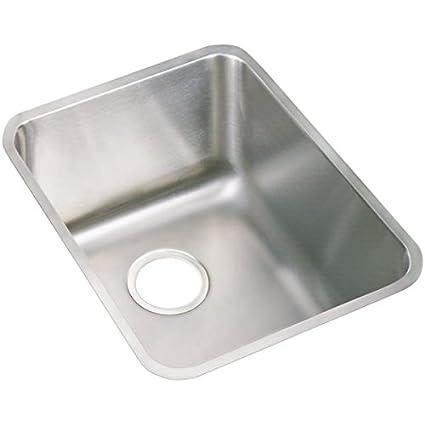 Superbe Elkay PLAUH141810 18 Gauge Stainless Steel 16.5u0026quot; X 20.5u0026quot; X  9.875u0026quot; Single Bowl