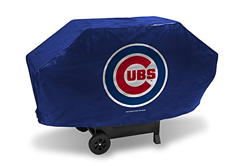 """Rico/Tag Express Chicago Cubs Deluxe Grill Cover 35"""" L X 68"""" W X 21"""" H"""