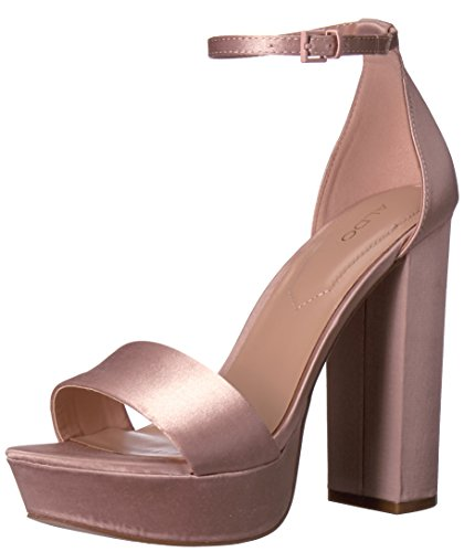 Aldo Women's Nesida Platform Dress Sandal, Light Pink, 8.5 B US