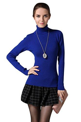 PinkWind Cashmere Turtleneck Slim Fit Sweater product image