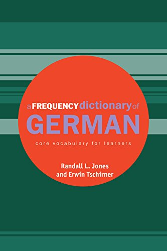 Download A Frequency Dictionary of German: Core Vocabulary for Learners (Routledge Frequency Dictionaries) Pdf