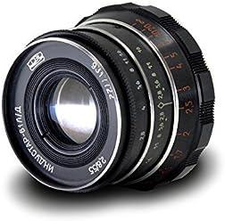 Industar-61 L/D 55mm f/2.8 for ミラーレス マウントアダプター付