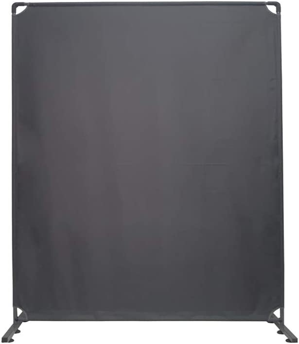 STEELAID Room Divider Office Wall Divider 60'' Gray Partition for Home Office, Restaurant,School, Church, Classroom, Dorm Room, Kids Room, Freestanding (60