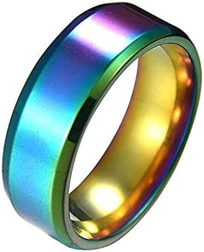 Fashion Simple UniLovers Stainless Steel Mirror Finger Rings Jewelry Gifts / Fashion Simple UniLovers Stainless Steel Mirror Finger Rings Jewelry Gifts