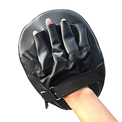Mictiona 1PCS Focus Boxing Punch Mitts Training Pad for Thai Kick Shock Absorbent Training Hand Pads - Ideal for Karate Boxing MMA Muay Thai or Fighting Sports Training Genuine: Kitchen & Dining