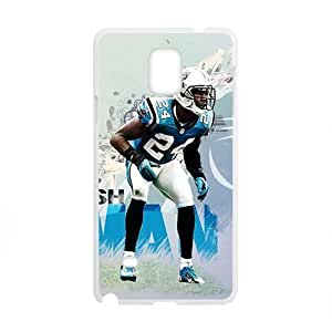 Happy CAROLINA_PANTHERS NFL Football Phone Case for Samsung Galaxy Note4