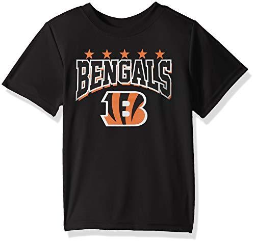 NFL Cincinnati Bengals Unisex Short-Sleeve Tee, Black, 4T ()