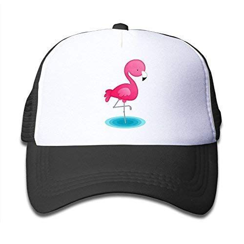Edwardsxxx Pink Mesh Baseball Cap Adjustable Kids Hats Carto