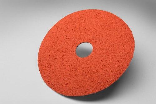 3M Abrasive 051144-13930 Fiber Discs 785C, Ceramic/Regular Alumina Mix, 5'' Diameter, 36 Grit (Pack of 25) by 3M