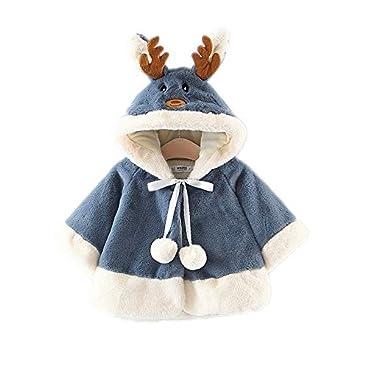 Hibasing Baby Kleinkind Mädchen Winterjacke Kinderjacken Warm Winter Coat Mantel Jacke Dicke Warme Babykleidung