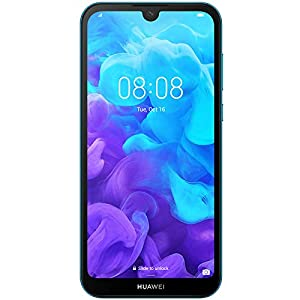 Huawei Y5 2019 AMN-LX3 Dual SIM 32GB+2GB RAM 5.71″ Display Factory Unlocked (International Version) (Sapphire Blue)
