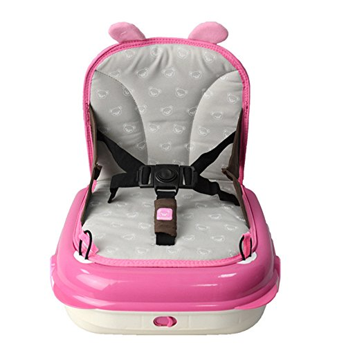 Multifunctional Changing Diaper Nappy Bag Portable Baby Chair for Feeding,High Chair Dinner Seat (pink) by olivadreamhouse