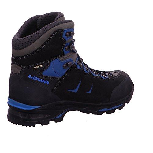 Lowa Camino GTX Walking Boots, 210 644 9940, Black/blue