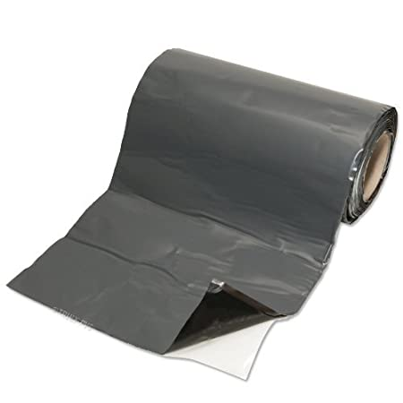 150mm x 5M Smooth EasyLead Flashing Roll for Flat or Pitched Tile Roof / Roofing Lead Alternative - Various widths available EasyTrim