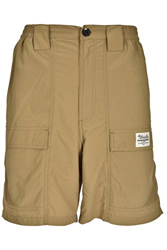 Bimini Bay Outfitters Grand Cayman Nylon Short Dark Khaki M