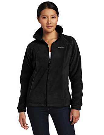 Columbia Women's Benton Springs Full Zip, Black, X-Small