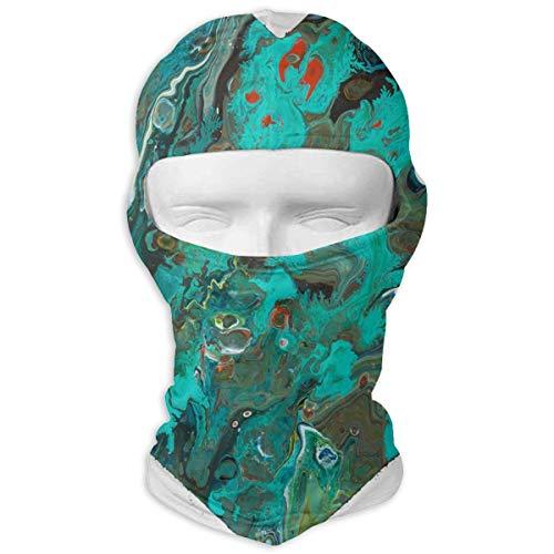 (Balaclava Beautiful Heart Shape Painting Full Face Masks UV Protection Ski Hat Womens Headcover for Hiking)