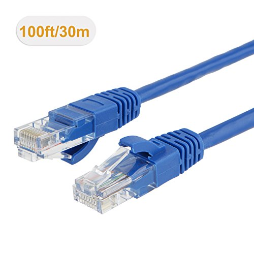 Buy ethernet cable cat 5e 100 ft