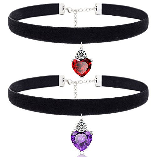 ce5c8d88af13a We Analyzed 1,820 Reviews To Find THE BEST Heart Pendant Choker