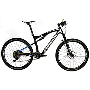 Stradalli Full Suspension Carbon 27.5 Mountain Bike Two 7 Blue Edition. Cross Country XC MTB 650b Shimano XT M8000. Shimano MT15 Wheel Set Ride PRO, Pay Less!
