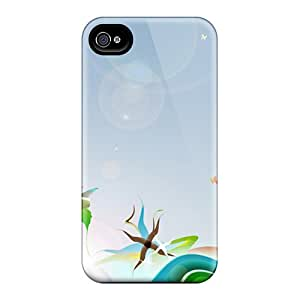 Iphone 4/4s Oym19636Naxv Support Personal Customs Nice Butterfly Pictures Excellent Hard Cell-phone Case -LauraAdamicska