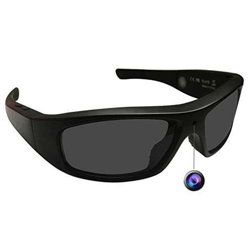DATONTEN Sunglasses with Camera HD 720P Video Recording Glasses with 8GB SD - Sunglasses Rate